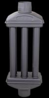 Economizer με κλαπέ  4 Φέτες  Φ 130  θερμοσυλλέκτης